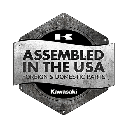 Kawasaki Assembled in the USA